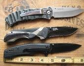 Schrade 3 knife lot of pocket knives