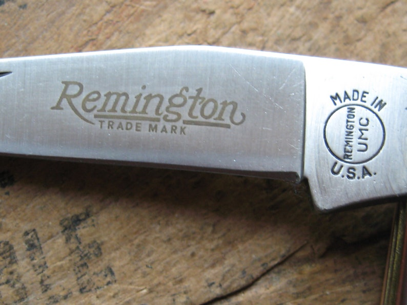 Remington USA 1993 model 4356 Texas Jack pocket knife