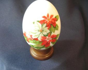 Avon handcrafted porcelain egg