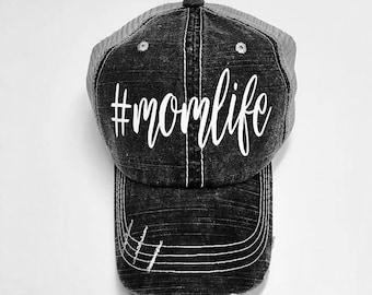 1d8c82b4cc4 Momlife Distressed Hat