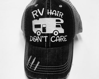 73e636ffc57 Camping hair dont care hat