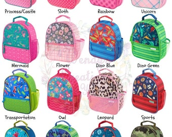 Personalized Insulated All Over Print  Lunch Box   Stephen Joseph Lunch Box   Kid's Lunch Box