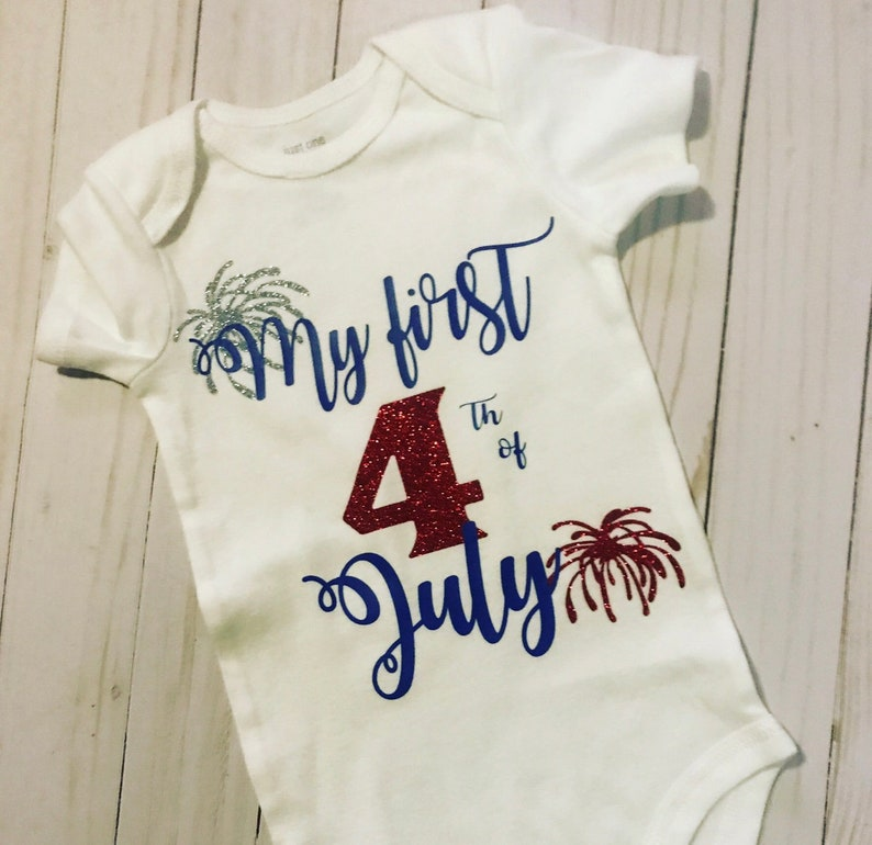 4th of July outfit 1st 4th of July bodysuit 4th of July shirt 1st 4th of July shirt