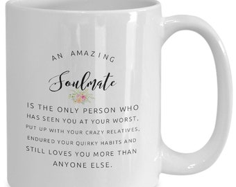 Soulmate mug   Etsy
