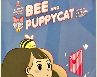 Bee and Puppycat #1 Variant - Cartoon Hangover - Natasha Allegri Rare Free Shipping
