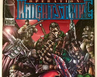 Operation: Knightstrike #1 - Created by Rob Liefeld - by Brian Witten | Richard Hirie | Jaime Mendoza - Image Comics - Free Shipping