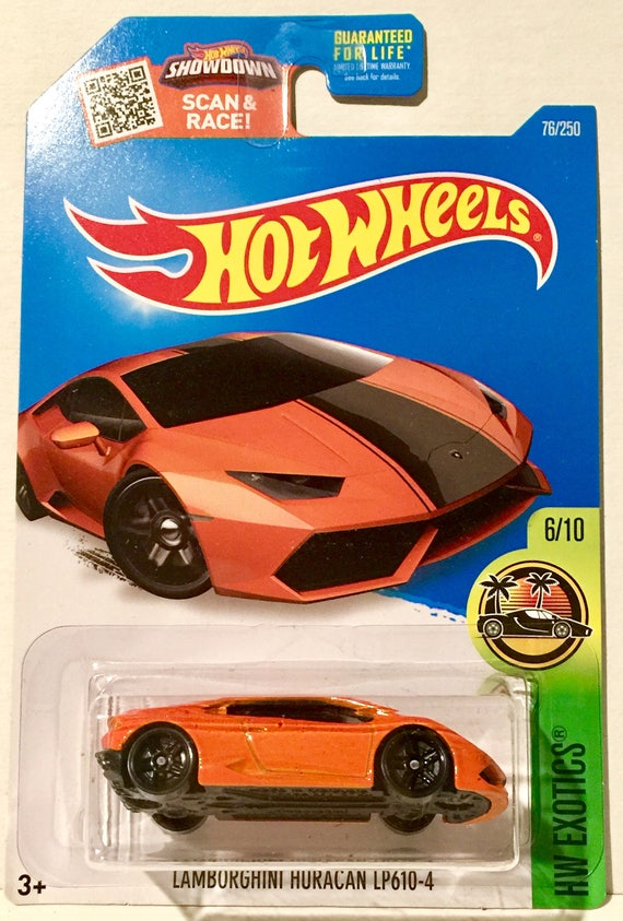 Hot Wheels Lamborghini Huracan LP610-4 76/250 HW Exotics
