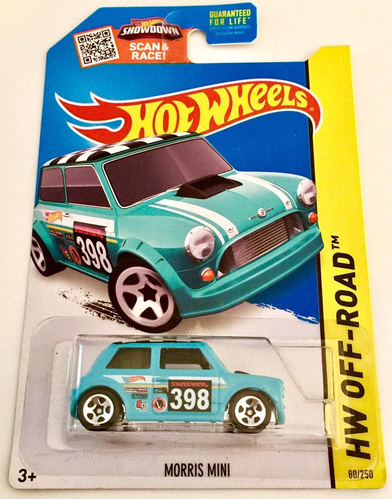Hot Wheels Morris Mini 80250 Hw Off Road Rare Free Etsy