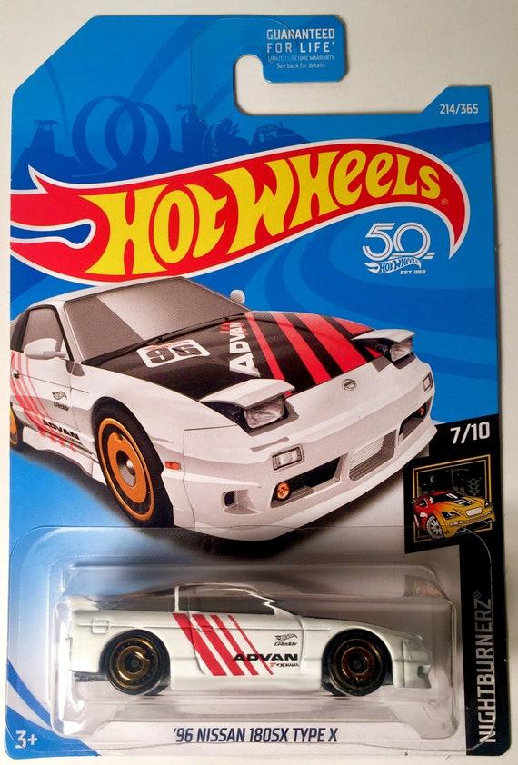 /'96 Nissan 180 SX Type X 2//6 Forza Horizon 4 XBOX 1:64 Hot Wheels GBB66 GDG44