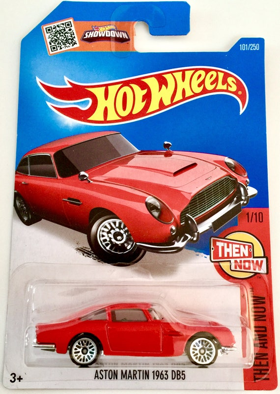 Hot Wheels Aston Martin 1963 Db5 101 250 Then And Now Etsy
