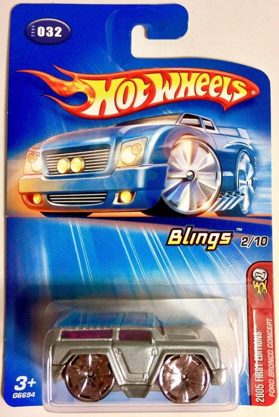 HOT WHEELS 2005 FIRST EDITIONS FORD BRONCO CONCEPT#032