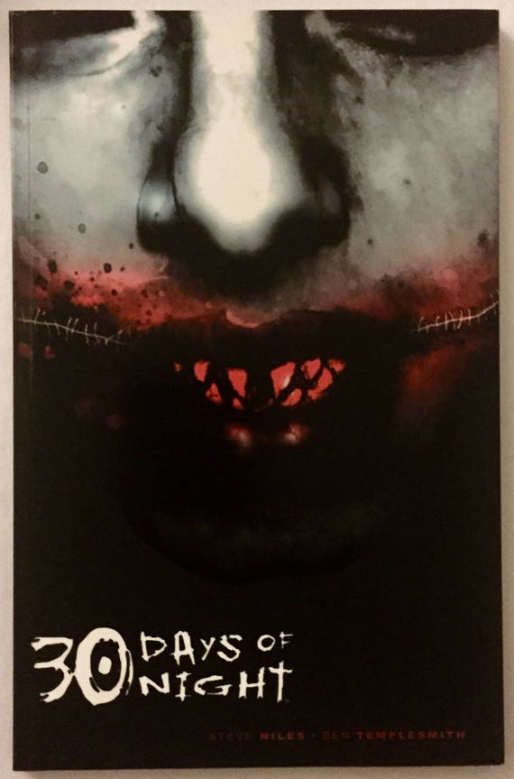 30 Days Of Night Rare Signed And Remarqued Steve Niles Ben Etsy