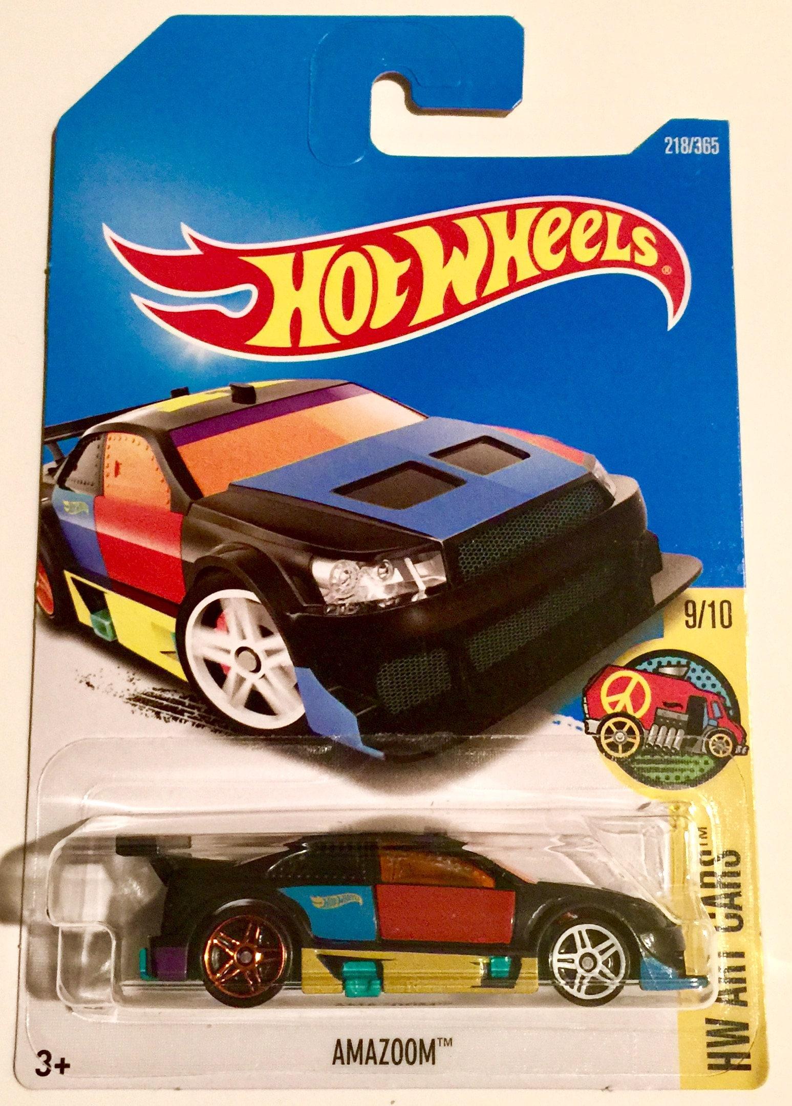 Hot Wheels Amazoom Hw Art Cars 218 365 Very Rare Free Etsy Lamborghini Estoque 50