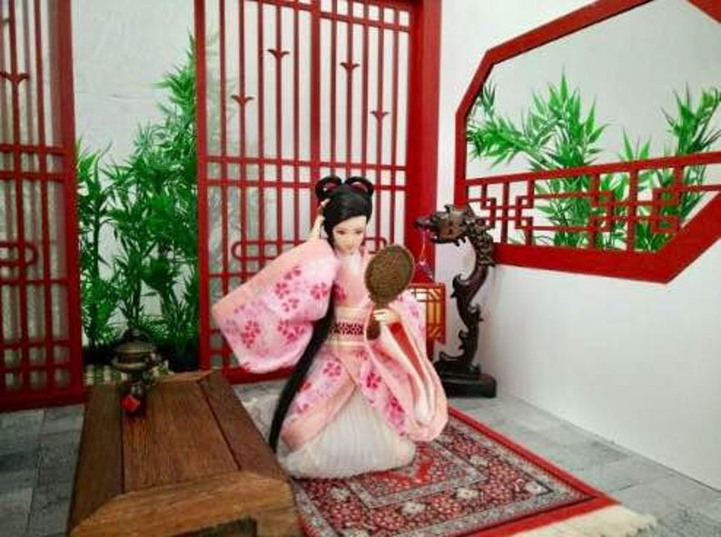 112 30cm Scale Doll  Art  Decoratio  Guarantee authentic 15cm Chinese Doll Room for 16