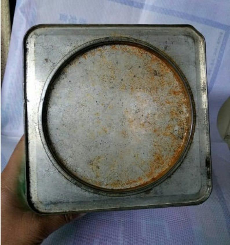 Chinese Vintage Biscuit TinArtDecorationGuarantee oldGuarantee authentic