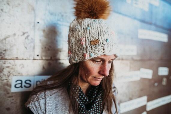 Vail Ski Hat - White