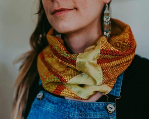 Green Series Woven Cowl I