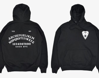 Ouija board & Planchette Hoodie (pullover) - great gift! MEMI Apparel (free shipping!)