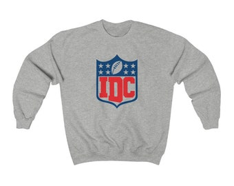 IDC- superbowl, football, nfl, game day sweatshirt pullover - great gift! MEMI Apparel (free shipping!)