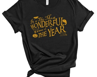 Halloween Its the Most Wonderful Time of the Year - great gift! MEMI Apparel
