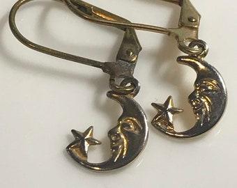 Celestial Earrings, Handmade