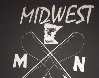 Midwest MN Fishing T-shirt