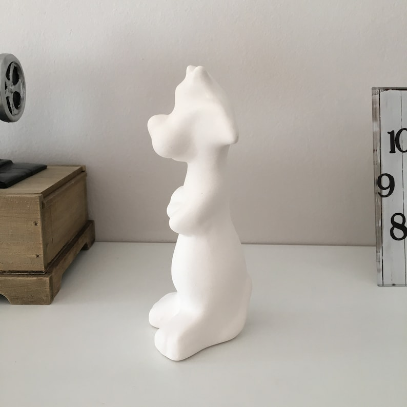 Looney Tunes Character Craft to Paint Animation Character Ceramic Figurine Looney Tunes Hero Ceramic Sylvester Cat Ready to Paint