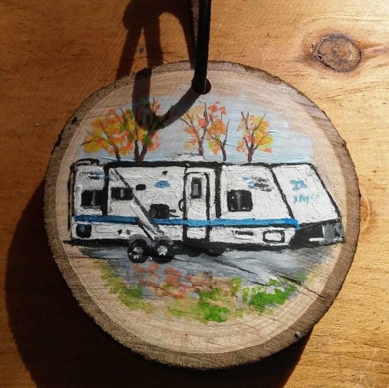 Travel Trailer Souvenir Ornaments or Magnets mix or match 20 item minimum