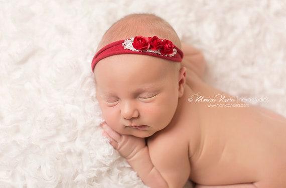 Baby headbands sitter photos newborn photo prop 6 month photoshoot Tieback Set Baby tiebacks Set of 3 tiebacks Shabby Chic Tiebacks