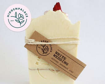 White Wedding | Cold Process Soap Bar