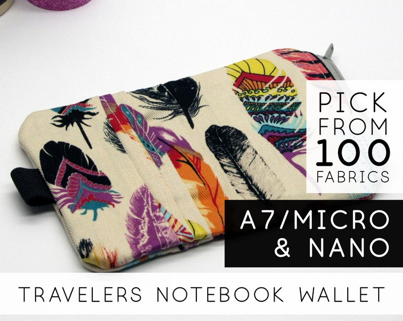 Credit Card Pocket Insert for Travelers Notebook With Pockets image 0