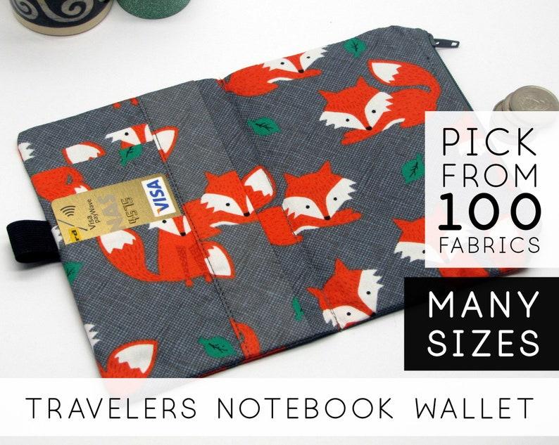 Wallet Notebook Pen  Personal A6 Hobonichi Weeks  Fox Foxy image 0