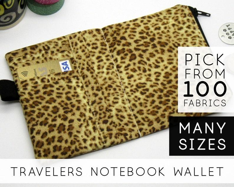Zippered Wallet Insert for Traveler's Notebook 2020  image 0