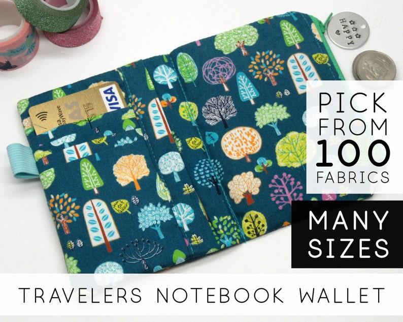Passport Wallet Insert for Midori Traveler's Notebook image 0
