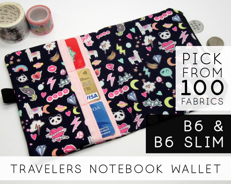 Credit Card Pocket Insert for Midori Traveler's Notebook image 0