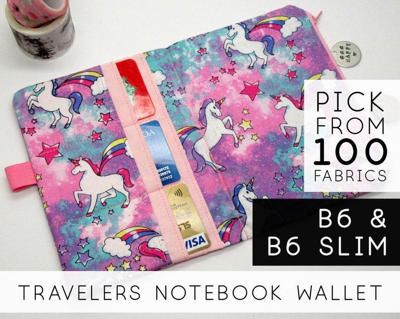 Credit Card Pocket Insert for Fauxdori Traveler's Notebook image 0