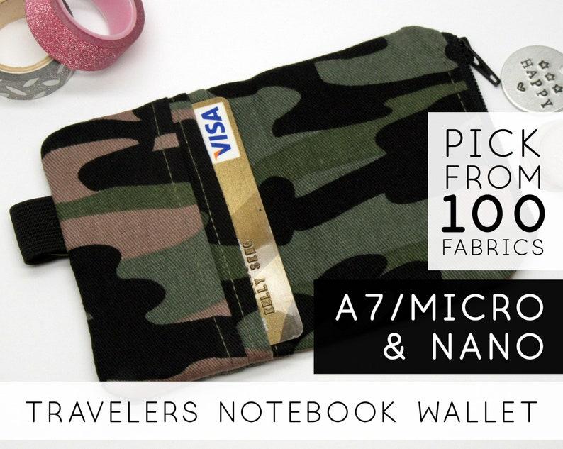 Chic Sparrow Nano Wallet Insert  Nano Mini Micro A7  image 0