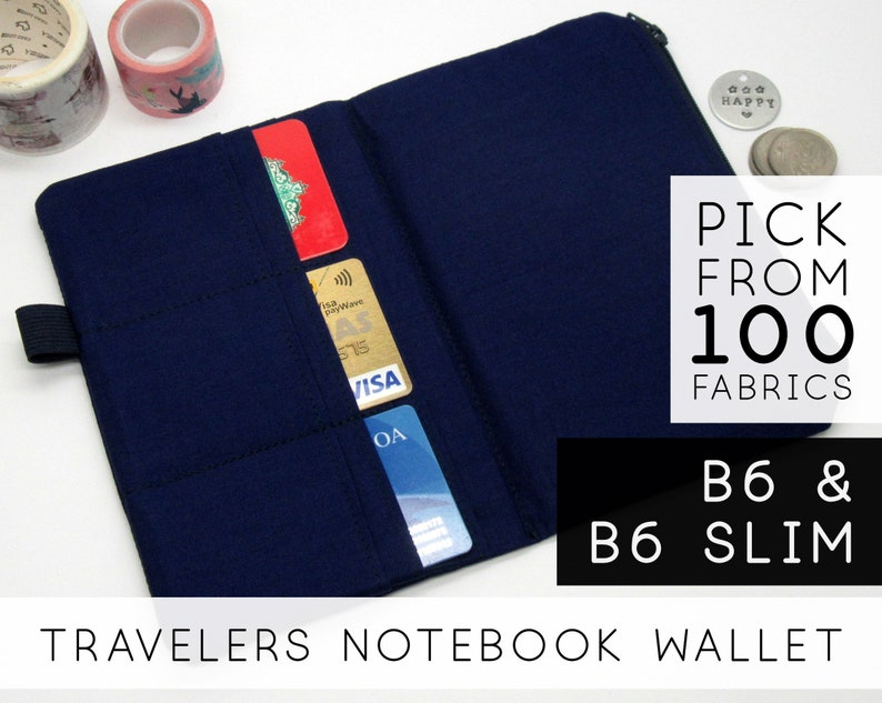 Credit Card Holder Insert for Traveler's Notebook As A image 0