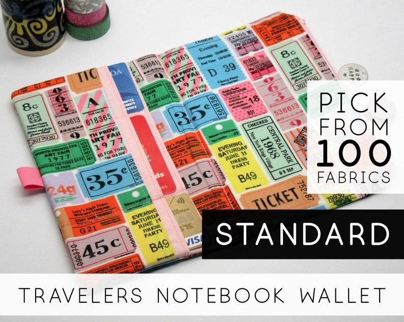 Zipper Pocket Insert for Traveler's Notebook Set  Size: image 0