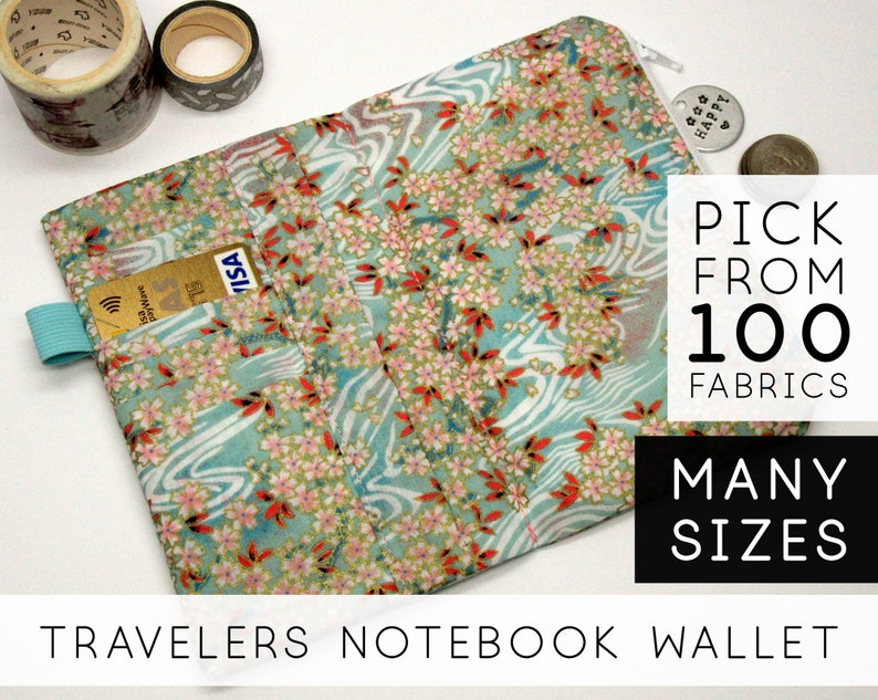 Zippered Wallet Insert for Midori Traveler's Notebook image 0