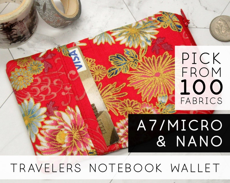 Credit Card Holder Insert for Chic Sparrow Travelers Notebooks image 0