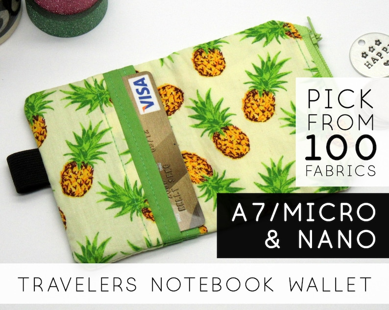 Zippered Wallet Insert for Traveler's Notebook Weekly image 0