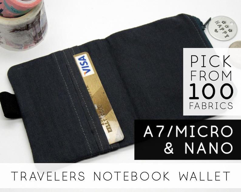 Wallet For Notebook  Nano Mini Micro A7  Dark Grey image 0