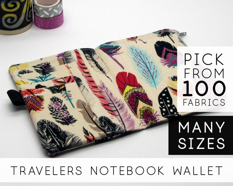 Passport Wallet Insert for Traveler's Notebook As A image 0
