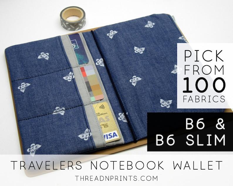 Credit Card Pocket Insert for Traveler's Notebook Bullet image 0