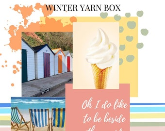Miss Moffat's Winter Yarn Box - Oh I Do Like To Be Beside The Seaside