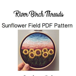 Beginner Embroidery Technique Guide Magic Mountain PDF Pattern