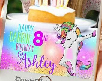 Dabbin' Unicorn Snapchat GeoFilter, Custom Snapchat Filter,Unicorn Party Geofilter,Dabbin'  unicorn Snapchat Filter, Dabbin' unicorn party