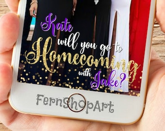 Homecoming Snapchat Filter, Custom Snapchat Filter, Snapchat Geofilter, Homecoming Filter, Homecoming Geofilter