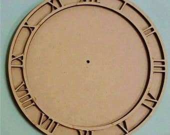 Craft - Clock face